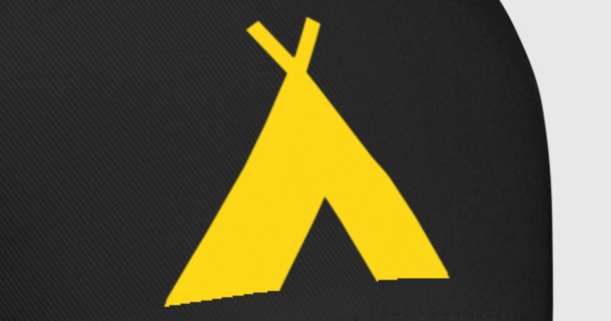 Tipi Camp Symbol By Glowingdarkdesigns Spreadshirt