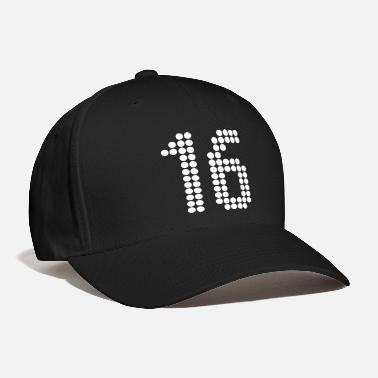 Number 16, Numbers, Football Numbers, Jersey Numbers - Baseball Cap