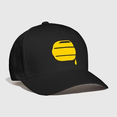 honey bee hive hives dripping sweet icon - Baseball Cap