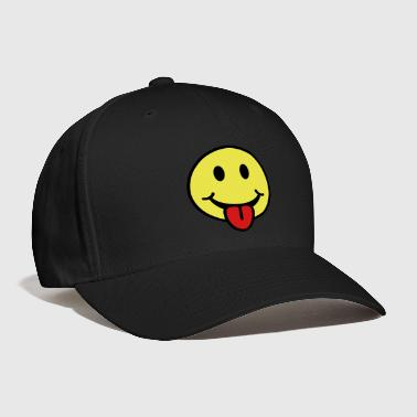 Smiley - Tongue Sticking Out - Baseball Cap