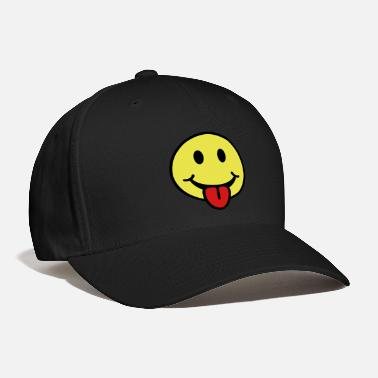 Tongue Smiley - Tongue Sticking Out - Baseball Cap