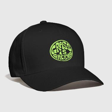 Grass Grass is Greener - Baseball Cap