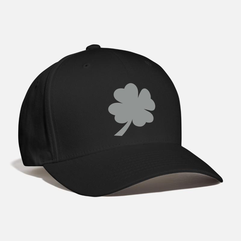 Saint Caps - lucky clover - Baseball Cap black 4afe4480ff1