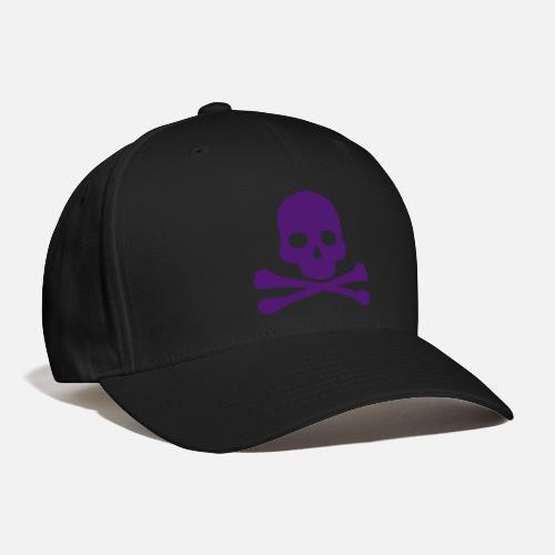 Skull and Crossbones - Baseball Cap. Front 1f1b60873c4