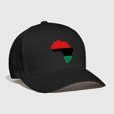 Red, Black & Green Africa Flag - Baseball Cap