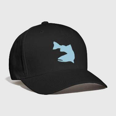 Vector Graphic - Trout Logo - Baseball Cap