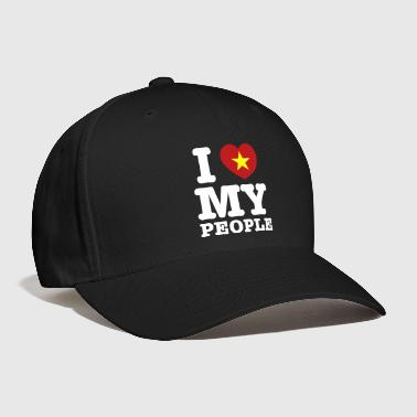 Vietnamese I Heart (Love) My Viet People - Baseball Cap