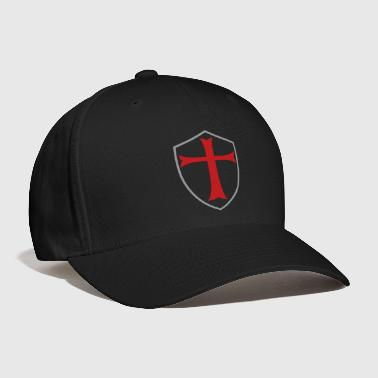 knights templar shield - Baseball Cap
