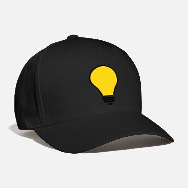 Light Light Bulb VECTOR - Baseball Cap
