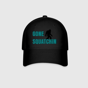 Gone Squatchin black - Baseball Cap
