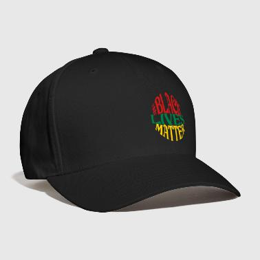 Black Lives Matter, 3 Color Vector - Baseball Cap