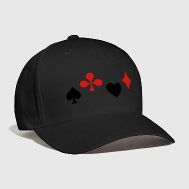 Ace of Spade Aces Hearts diamonds clubs 2c - Baseball Cap