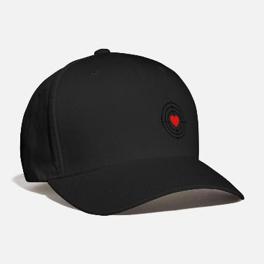 Couples Heart is Target - Baseball Cap