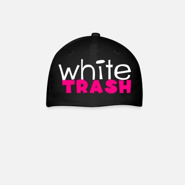 Redneck white trash - Baseball Cap