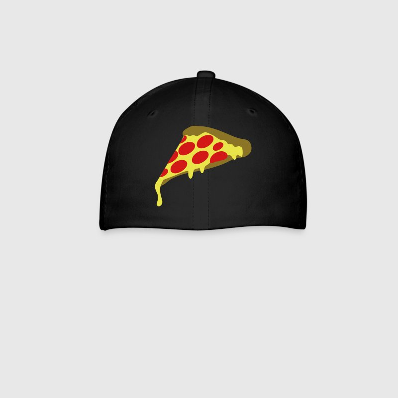 pepperoni pizza slice - Baseball Cap