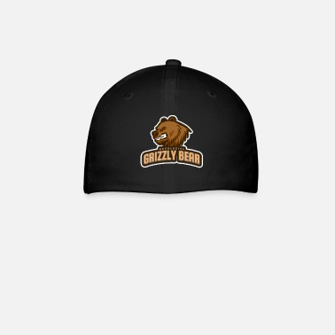 Aggressive Aggressive Grizzly Bear - Baseball Cap