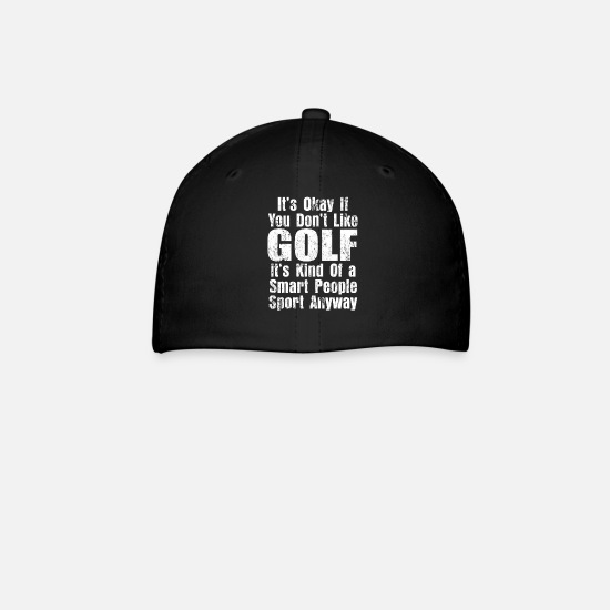 Golf Caps - Golf - Baseball Cap black