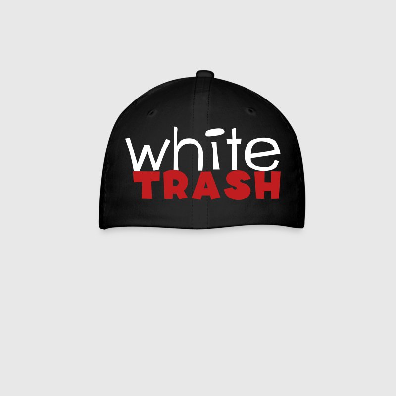 white trash - Baseball Cap