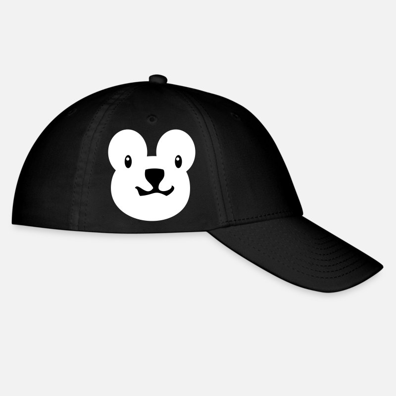 teddy bear face alone with really cute nose Baseball Cap  a5e8a4f7c1e