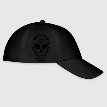 Mexican Sugar Skull decorated 35 - Baseball Cap
