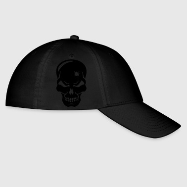 Head Shot creepy skull - Baseball Cap