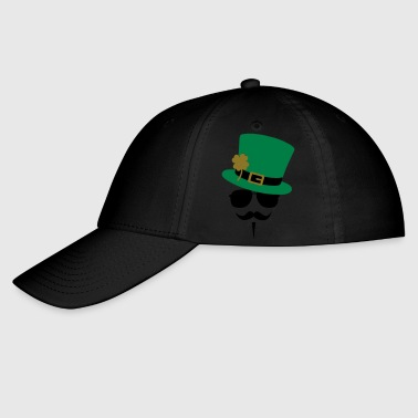Anonymous Go Green Moustache - Baseball Cap