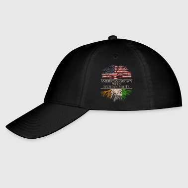 Ivory Coast american grown with ivorian roots - Baseball Cap
