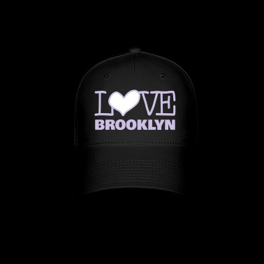 Love Brooklyn with Pink Heart - Baseball Cap