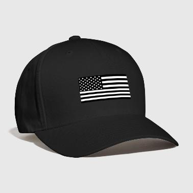 American Flag Subdued black - Baseball Cap