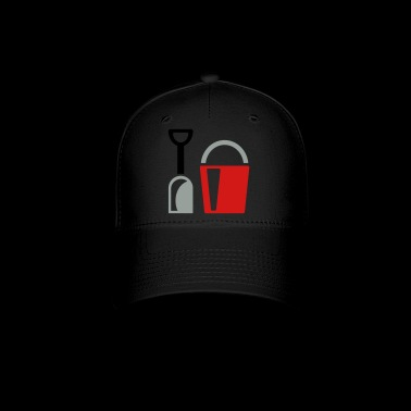 bucket and shovel - Baseball Cap