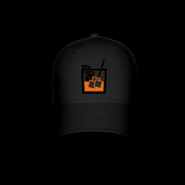 whiskey glass - Baseball Cap