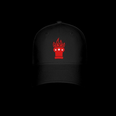 Chef's hat in flames - Baseball Cap