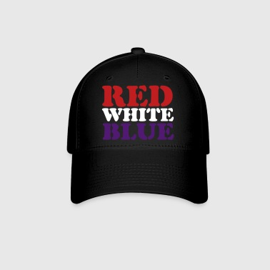 Red White Blue - Baseball Cap