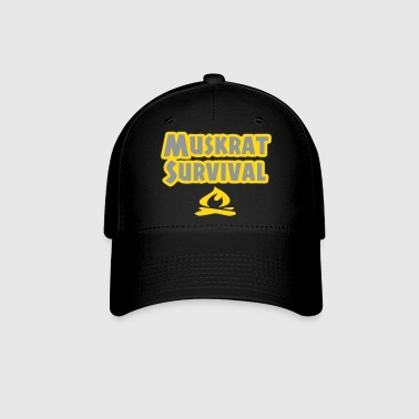 Muskrat Survival button - Baseball Cap