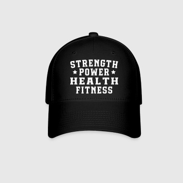 Strength power health fitness - Baseball Cap