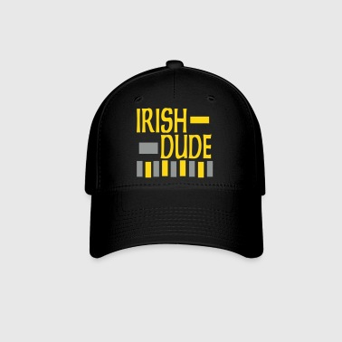 Irish Dude, 3 Color Design - Baseball Cap