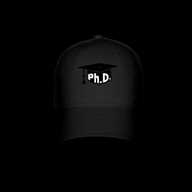 Mortarboard Ph.D. Graduation - Baseball Cap