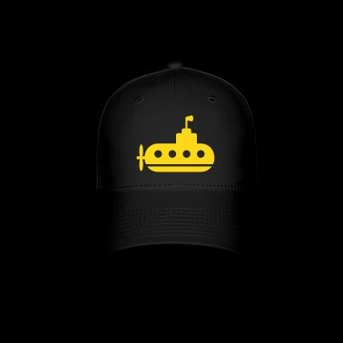submarine in the ocean - Baseball Cap