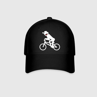 BMX Stickman Ball Cap 1 - Baseball Cap