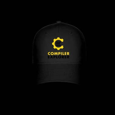 Logo and text - Baseball Cap