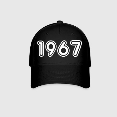 1967, Numbers, Year, Year Of Birth - Baseball Cap
