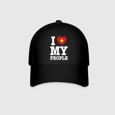 I Heart (Love) My Viet People - Baseball Cap