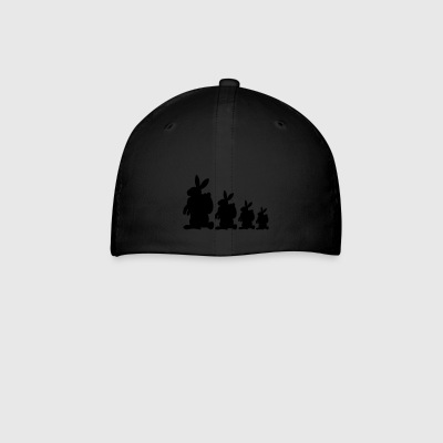 Four Easter Bunnies - Baseball Cap