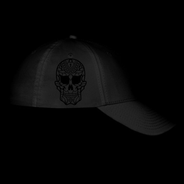 Sugar Skull decorated 35 - Baseball Cap