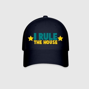 i rule the house with stars - Baseball Cap
