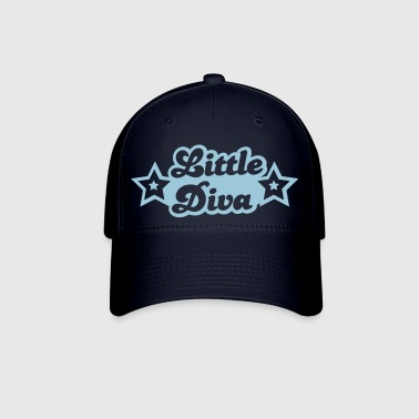 little diva with cute little stars - Baseball Cap