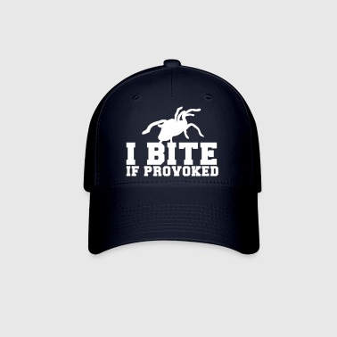 I BITE! if provoked! creepy spider scary!  - Baseball Cap