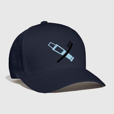 Toothbrush - toothpaste - tooth - Baseball Cap