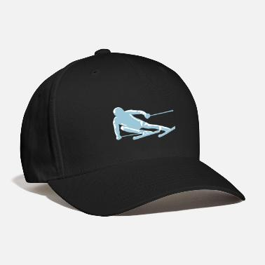 Ski Resort ski, skiing - Baseball Cap