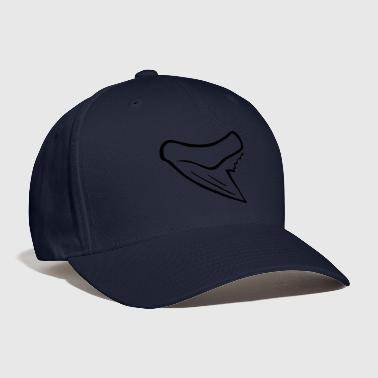 Tooth Long Tooth Tiger Shark Tooth - Baseball Cap